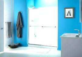 clean shower glass door blue cleaner best thing to