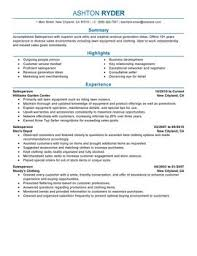 Resume Summary Examples For Retail Roddyschrock Com