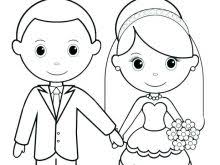 Personalized Wedding Coloring Book Wedding Coloring Pages Free In
