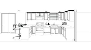 simple kitchen drawing.  Kitchen Small Kitchen Plans Fascinating Floor Plan Layout  Design Ideas With Island   Inside Simple Kitchen Drawing D