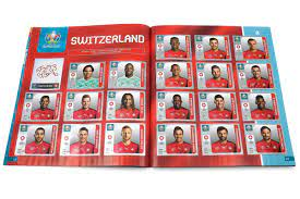 ▷ The UEFA EURO 2020TM Pearl Edition official sticker collection
