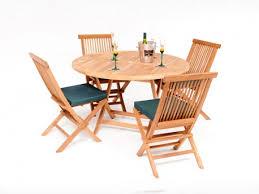 wiltshire teak round table patio dining set