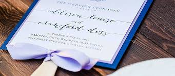 Wedding Program Fans Cheap 3 Stylish And Easy Diy Wedding Program Fans Ideas Wedding Forward