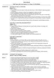 Electrical Cad Designer Jobs Electrical Designer Resume Samples Velvet Jobs