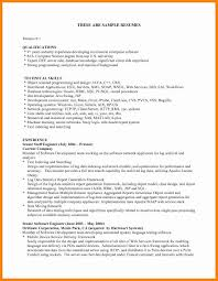 Resume Qualifications Summary Summary Of Qualifications In Resume Lovely Resume Template Summary 48