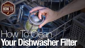Ge Dishwasher Filter Video How To Clean Your Dishwasher Filter Reviewedcom Dishwashers