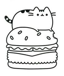 Small Picture Pusheen Cat Printable Coloring Pages halloween Pinterest