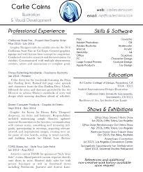 Pixar Resume Free Resume Example And Writing Download