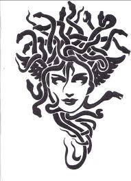 Image Result For Horror Fantasy Stencils эскизы горгона медуза