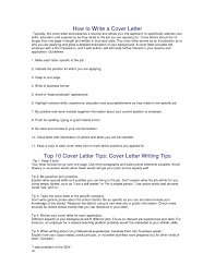 Tips For Cover Letter Writing Cover Letter Cover Letter Writing Samples The Best Letter Sample 17