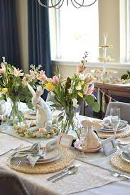 easter table decorations easter brunch