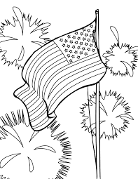 Small Picture 4th of July Coloring Page Handipoints