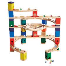 hape kids wooden loop de loop marble run