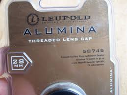 Leupold 58745 Alumina 28mm Threaded Lens Cover Tc Objective Lens Cover