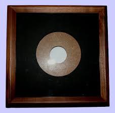 american walnut plate frame