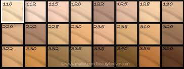 Maybelline Fit Me Foundation Shades Chart Maybelline Fit Me Matte Poreless Foundation Review Shades