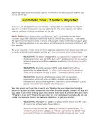 Resume Objective Tips Whats A Good Resume Objective Writing Resume Objective Tips For 13