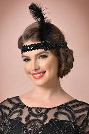 20s Hair Style ladies 1920s jewelry styles fashion for flappers 2200 by wearticles.com