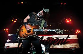 rocking out ted nugent performs in roanoke virginia on april 28 during a