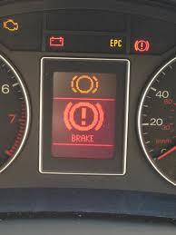 Mercedes Benz Brake Wear Warning Light Brake Pad Sensor Warning Light Brake Pad Wear Indicator
