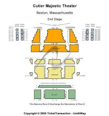 Cutler Majestic Seating Chart Cutler Majestic Theatre Tickets And Cutler Majestic Theatre