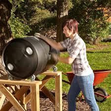 how a compost barrel works