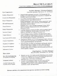 Electrical Engineer Resume Inspiration Electrical Engineering Resume Examples 28OZX Facility Manager