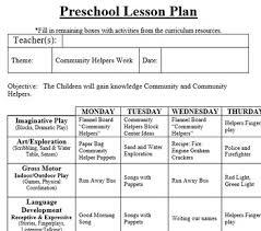 Preschool Lesson Plan And Detailed Activities Community Helpers Week