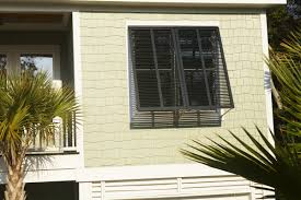 Bermuda Style Exterior Shutters - Shutters window exterior