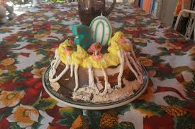 Happy B Day With A Traditional Cuban Cake Picture Of Hostal Del