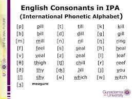 Compare ipa phonetic alphabet with merriam webster pronunciation symbols. Ppt English Consonants In Ipa International Phonetic Alphabet Powerpoint Presentation Id 4771706