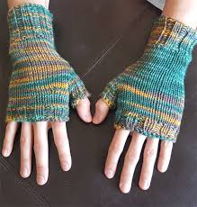 Free Fingerless Gloves Knitting Pattern Impressive Easy Fingerless Mitts Knitting Patterns In The Loop Knitting