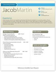 The Best Resume Templates Interesting Resumé Templates 48 Best One Page Resume Template Images On