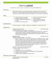 Sample Resume Objectives Criminal Justice Resume Objectives Resume Sample LiveCareer 80
