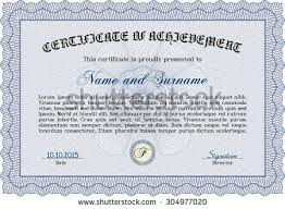 certificate diploma template vector pattern that stock vector  certificate template or diploma template complex background vector pattern that is used in