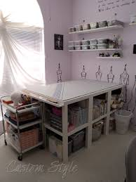 Sewing Room Storage Cabinets My Sewing Space The Sequel Custom Style