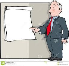 Flip Chart Presentation Stock Vector Illustration Of Flip