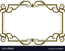 frame design. Delighful Design Frame Design Vector Image In Design