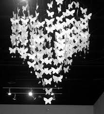 chandelier simple white paper best diy erfly chandelier images on erfly module 18