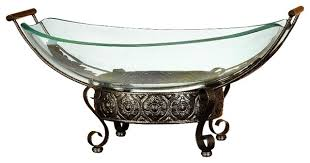 Decorative Glass Bowls For Centerpieces Latest dining table designs pictures decorative glass bowl 2