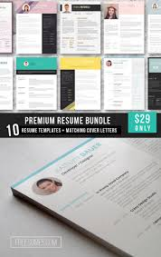 best images about premium resume packages premium resume template bundle from sumes com