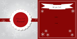 christmas gift certificate templates christmas gift certificate
