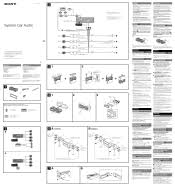 sony cdx gt09 wiring diagram wiring diagrams sony xplod cdx gt09 wiring diagram digital