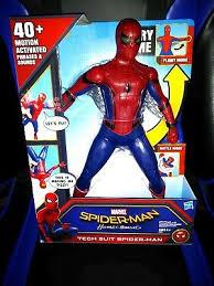 spider man homeing tech suit figure