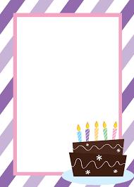 fresh birthday invitation backgrounds