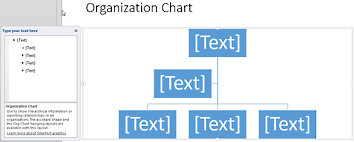 Insert An Organization Chart In Powerpoint 2013