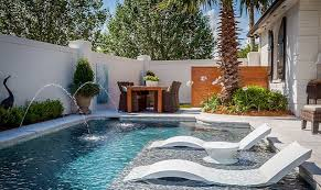 cool backyard swimming pools. Interesting Cool Image Courtesy Ledge Lounger Used With Permission On Cool Backyard Swimming Pools C