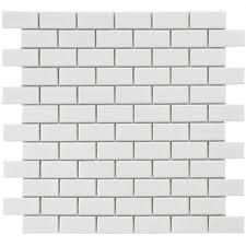 merola tile metro subway glossy white 11 3 4 in x 11