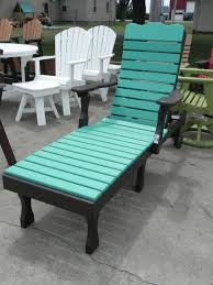 black blue green recycled milk jug furniture two tones color outdoor plastic lumber chaise lounge colorful earth friendly57 furniture