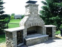 custom outdoor fireplaces s custom outdoor fireplace design